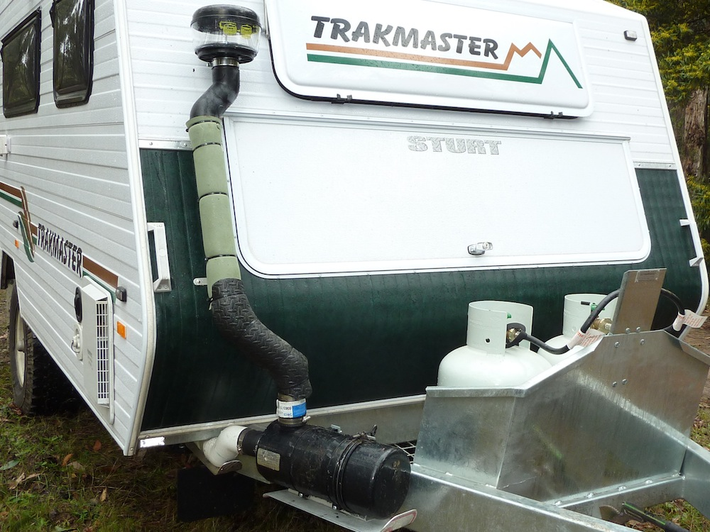 Dust Proofing a Van - Caravaners Forum - Since 2000